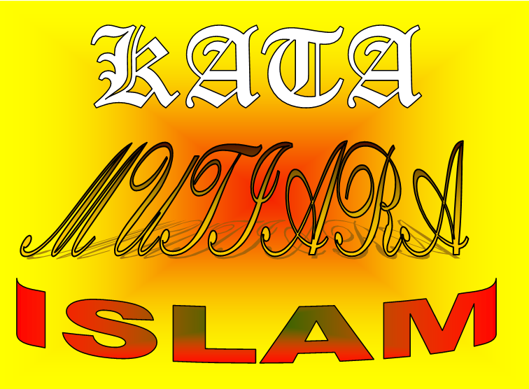 Kata Kata Hikmah Islami Paling Bagus Galaxy Ilmu Animasi